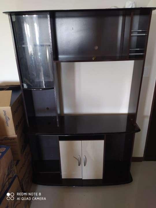 Mueble para sala para tv tipo rack estante - 0