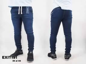 Jogger de jeans para caballero EXIT191