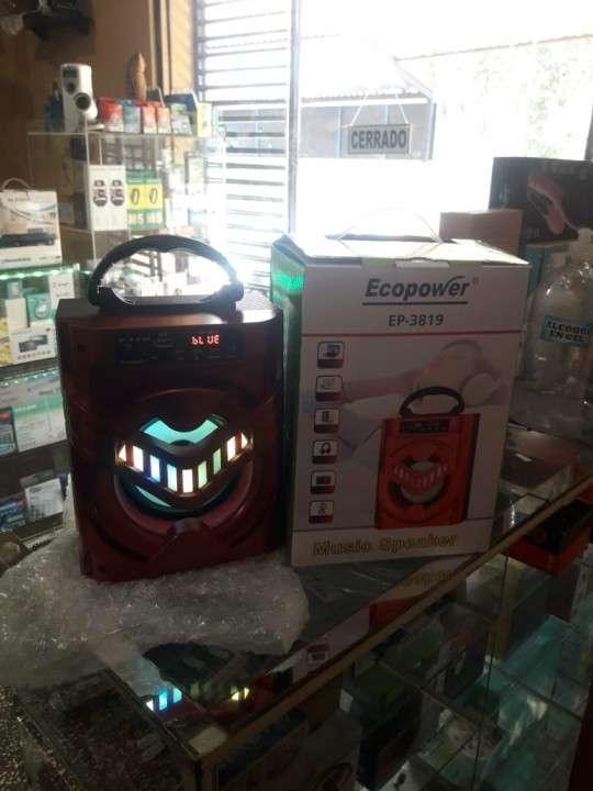 Speaker a bluetooth USB y radio FM Ecopower - 1