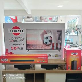 Smart TV Tokyo de 50 pulgadas + Sound Bard