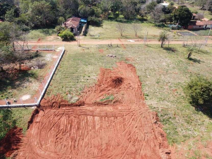 Terrenos 12x31 sobre asfalto en Pindolo Areguá - 0