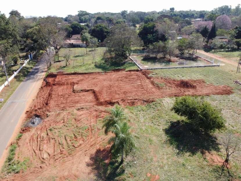 Terrenos 12x31 sobre asfalto en Pindolo Areguá - 1