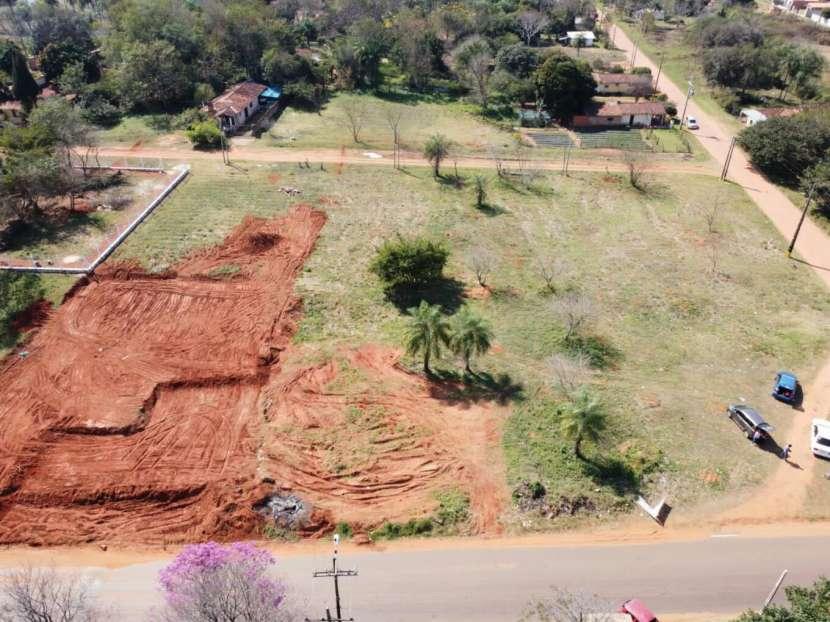 Terrenos 12x31 sobre asfalto en Pindolo Areguá - 2