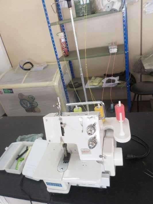 Máquina de coser familiar overlock - 0