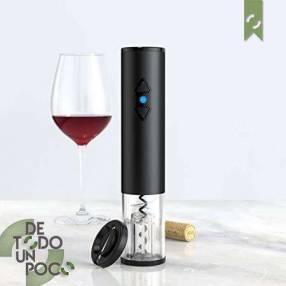 Abridor de vino a batería