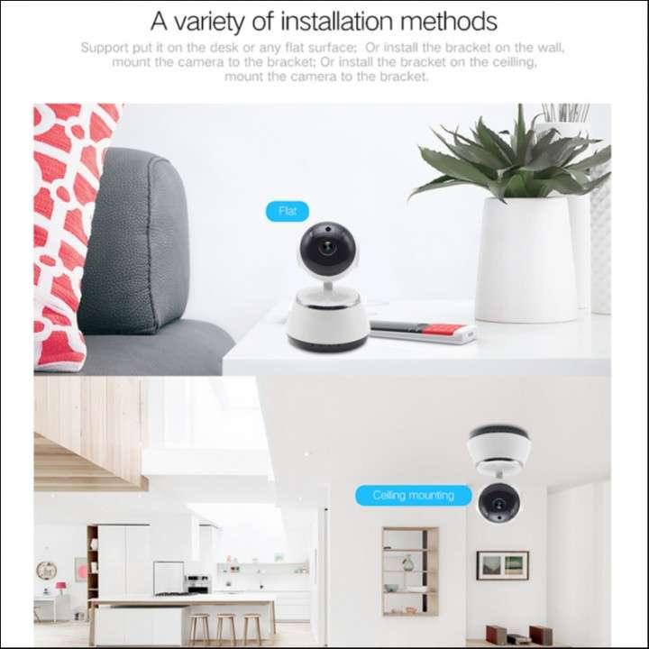 Cámara wifi 360° P2P IP Home 720p - 1