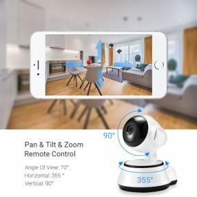 Cámara wifi 360° P2P IP Home 720p