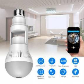 Lámpara led con cámara wifi 360° V 380 Pro