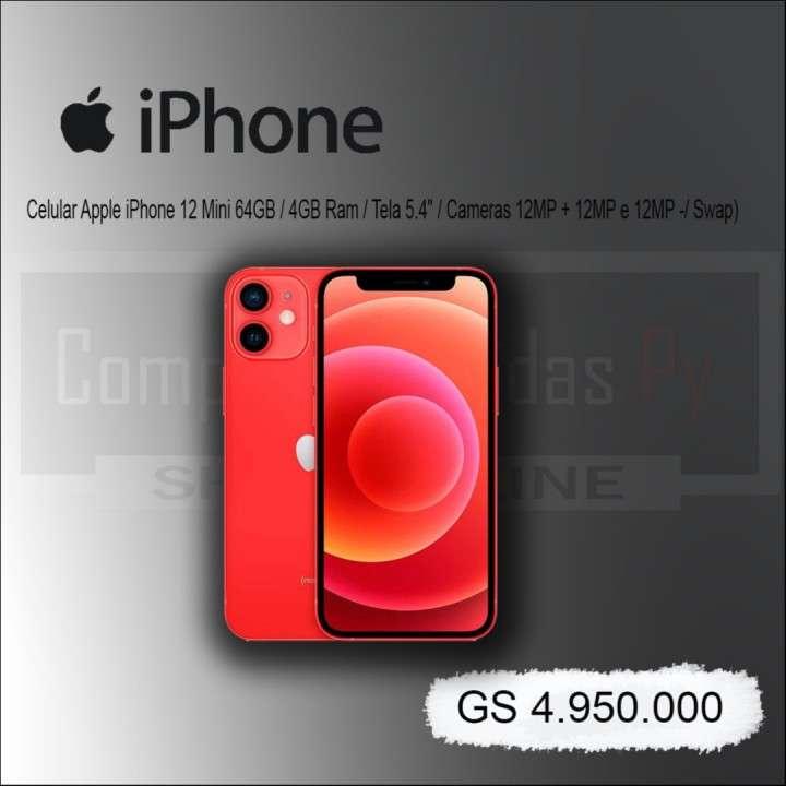 Celular Apple iPhone 12 Mini 64gb grado A - 0