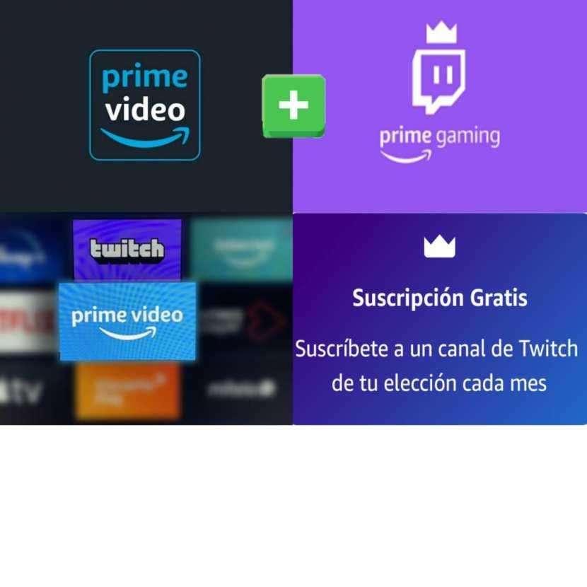 Prime Video y Prime Gaming - 0