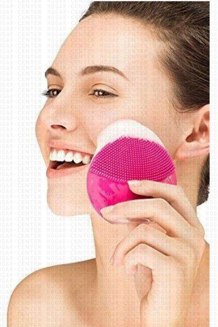 Exfoliador facial rosa 8cm - 0