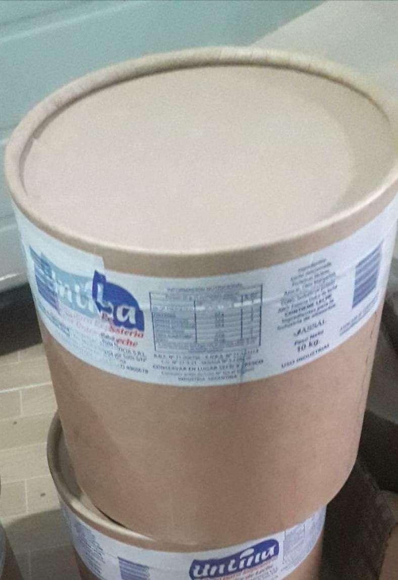 Dulce de leche repostero Untina 10 Kg - 0