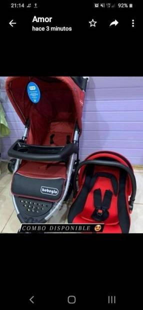 Carrito y baby seat Bebeglo