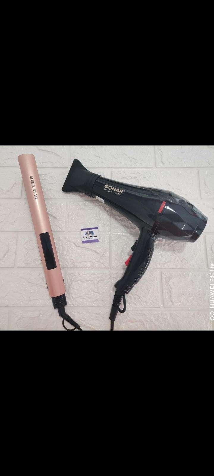 Planchita Mega Star+ secador profesional Sonar - 0