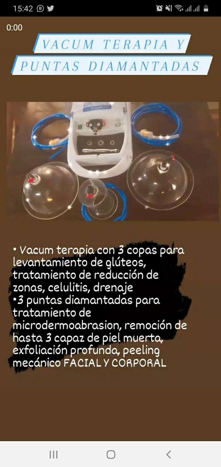 Vacumterapia combinado con puntas de diamantes - 0