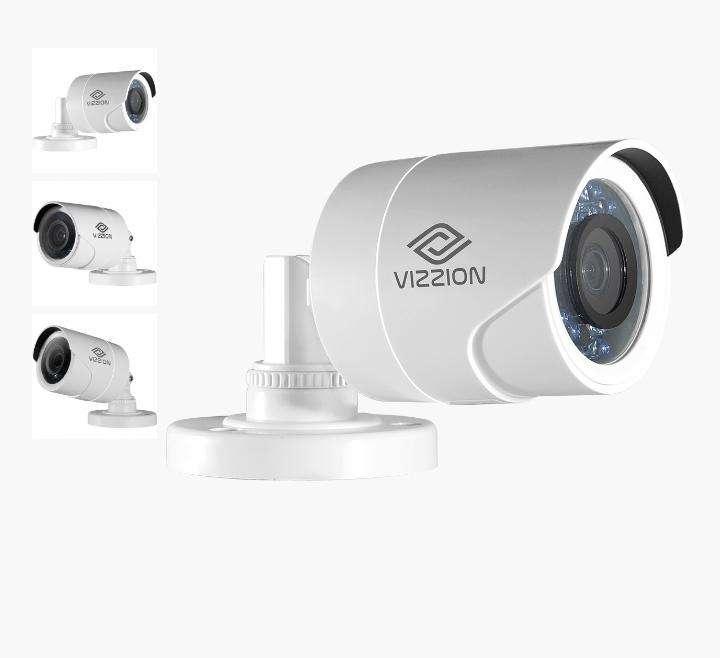Cámara de vigilancia FHD Bullet Vizzion VZ-BD0T-I3F 2.8MM 2MP IR 30M 1080p - 0