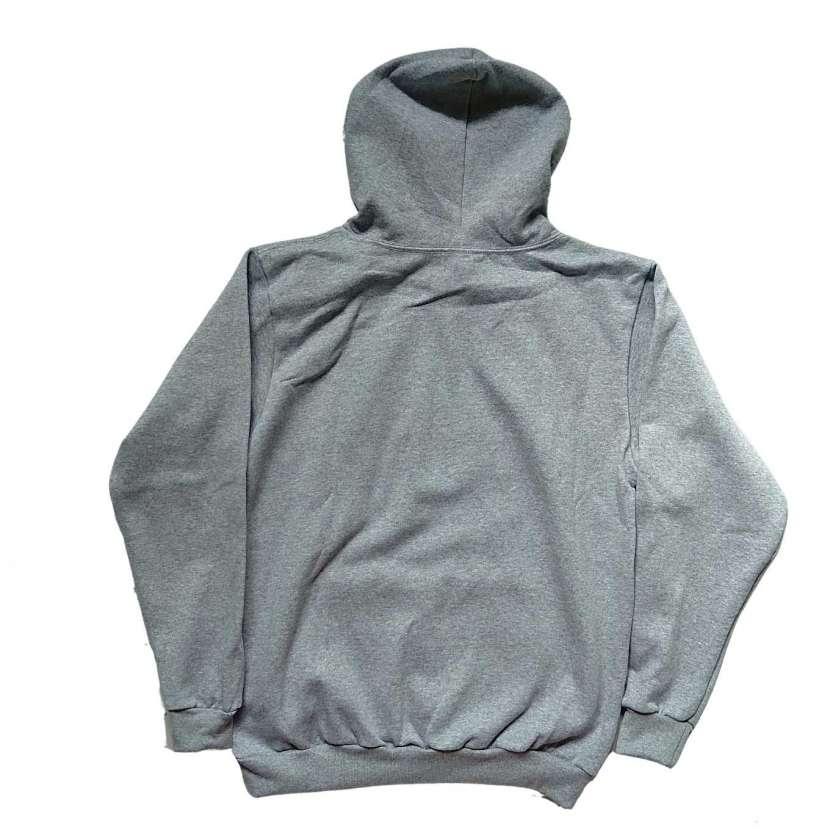 Capucha con canguro gris talla G Adidas - 1