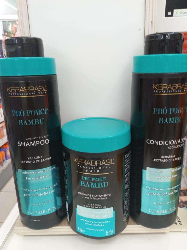 Kit de shampoo acondicionador y tratamiento - 1