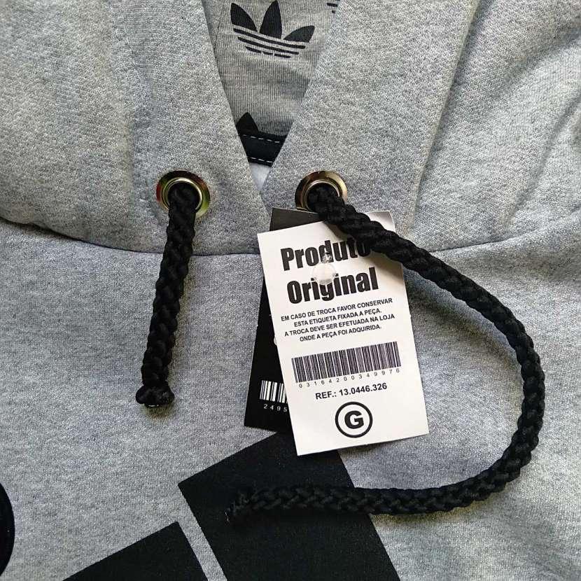 Capucha con canguro gris talla G Adidas - 2