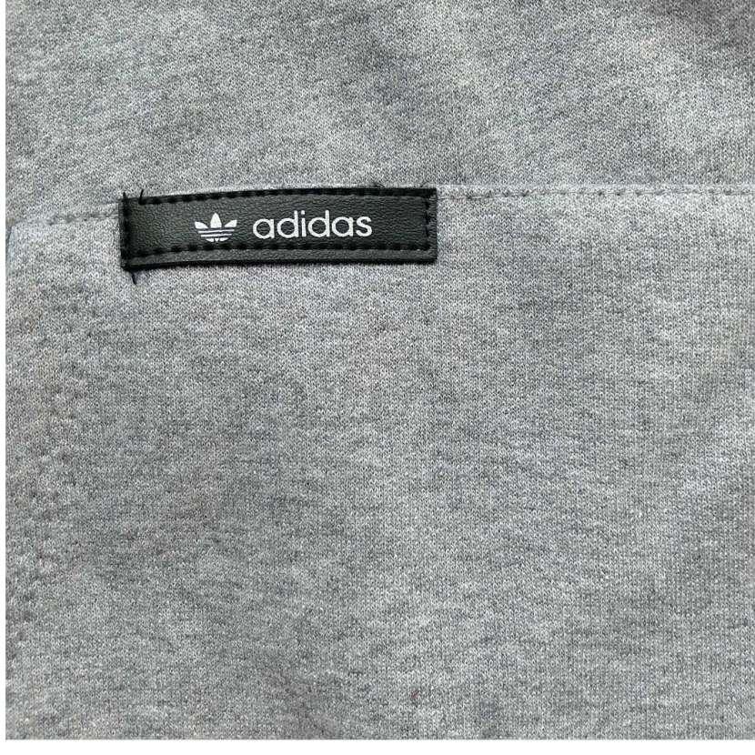 Capucha con canguro gris talla G Adidas - 4