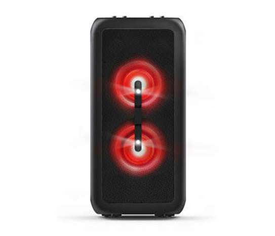 Parlante philips party tanx100/10 + reloj hummer - 1