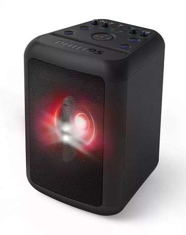 PARLANTE PHILIPS PARTY TANX200/10 + RELOJ HUMMER - 1
