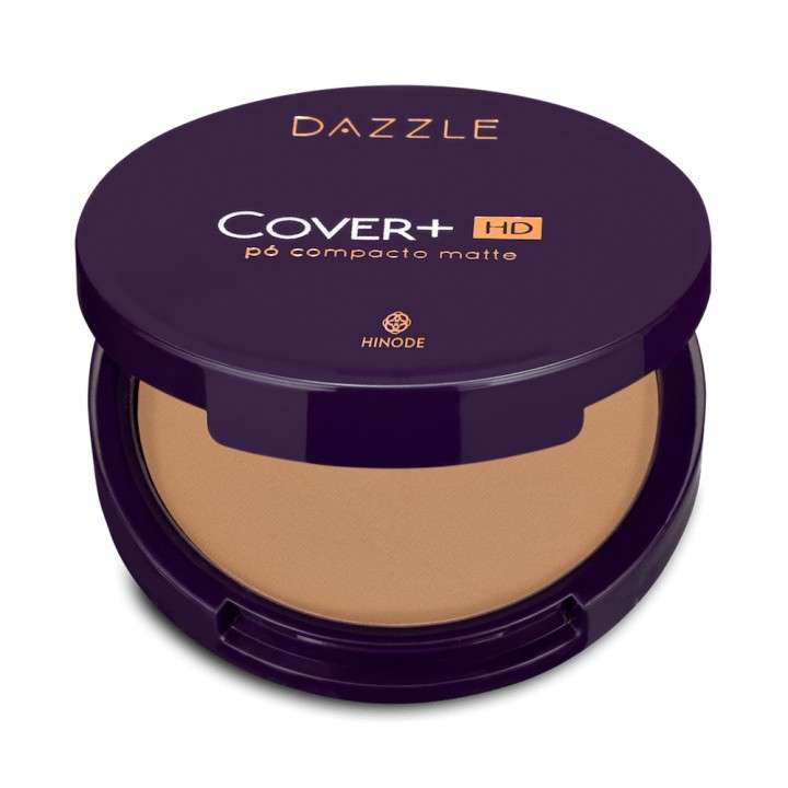 Hd cover + polvo medio compacto 02 dazzle 12g - 0