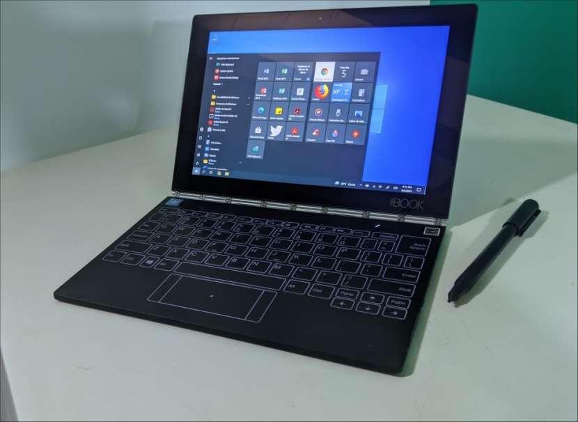 Notebook Lenovo Yoga Book TouchScreen 360 Grados!!! - 8