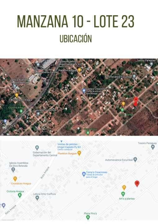 Terrenos zona Pindolo Areguá - 1