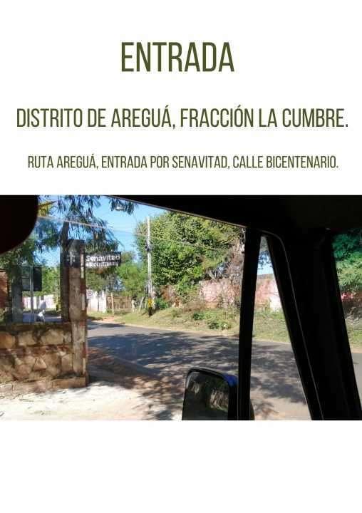 Terrenos zona Pindolo Areguá - 4