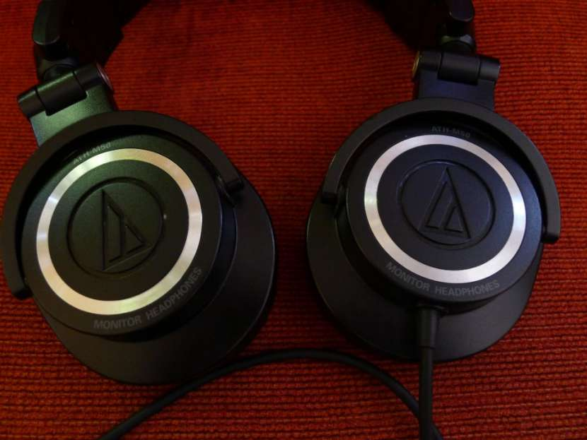 Auricular Audio-Technica ATH-M50 monitor de estudio - 0