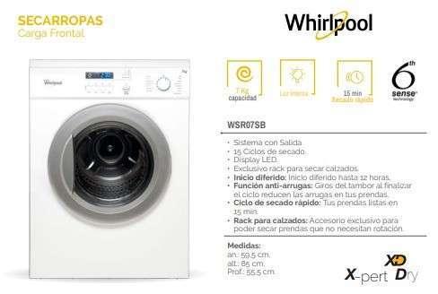 Secarropas Whirlpool 7 kilos - 0