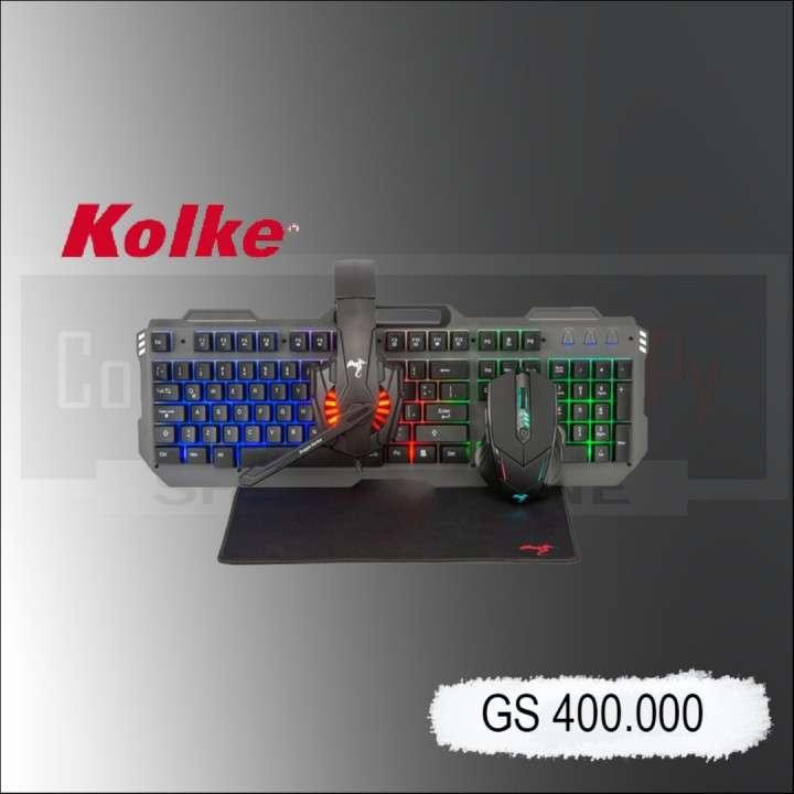 Kit gamer Kolke Ares KGK-458 4x1 - 0