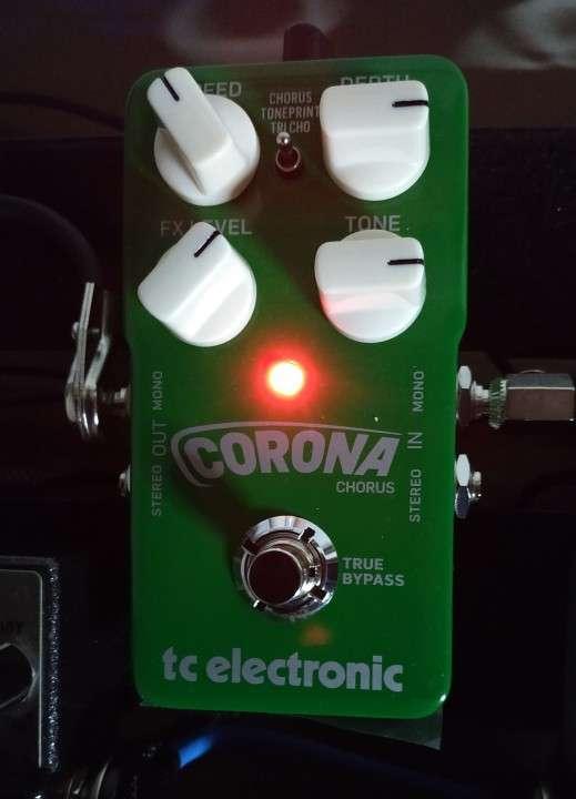 Pedal para guitarra electrica tc corona chorus - 2