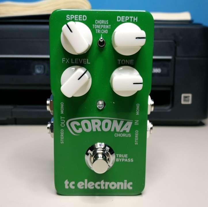 Pedal para guitarra electrica tc corona chorus - 1