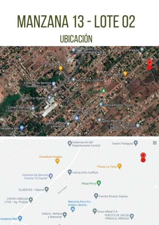 Terrenos zona Pindolo Areguá - 3