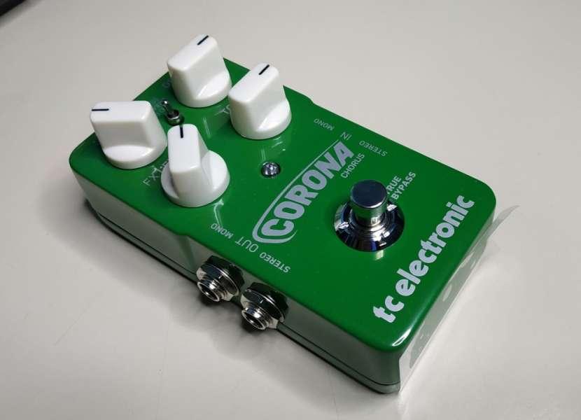 Pedal para guitarra electrica tc corona chorus - 0