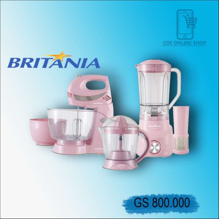 Kit Britania rosa 220v - 0