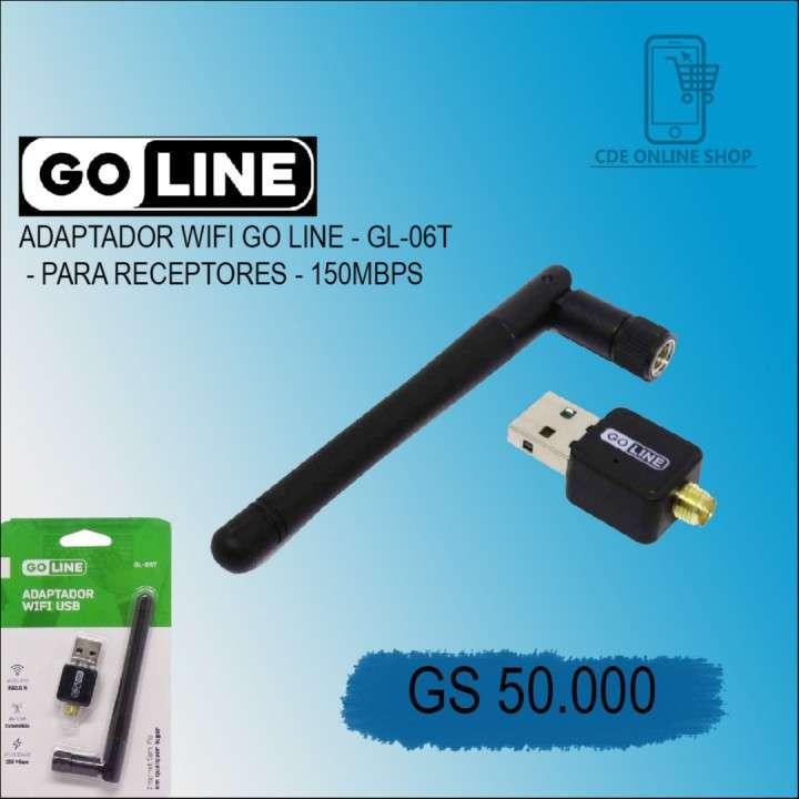 Adaptador wifi Go Line GL-06T para receptores 150mbps - 0
