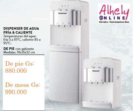 Dispensador de Agua Frio/Caliente Consumer - 0
