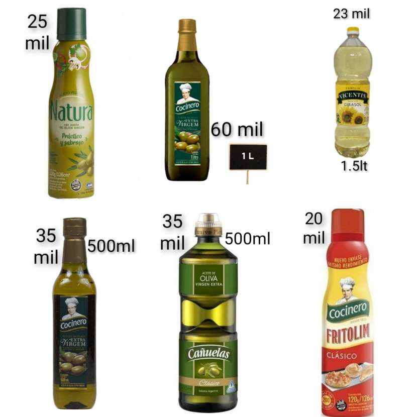 Aceites comestibles - 0