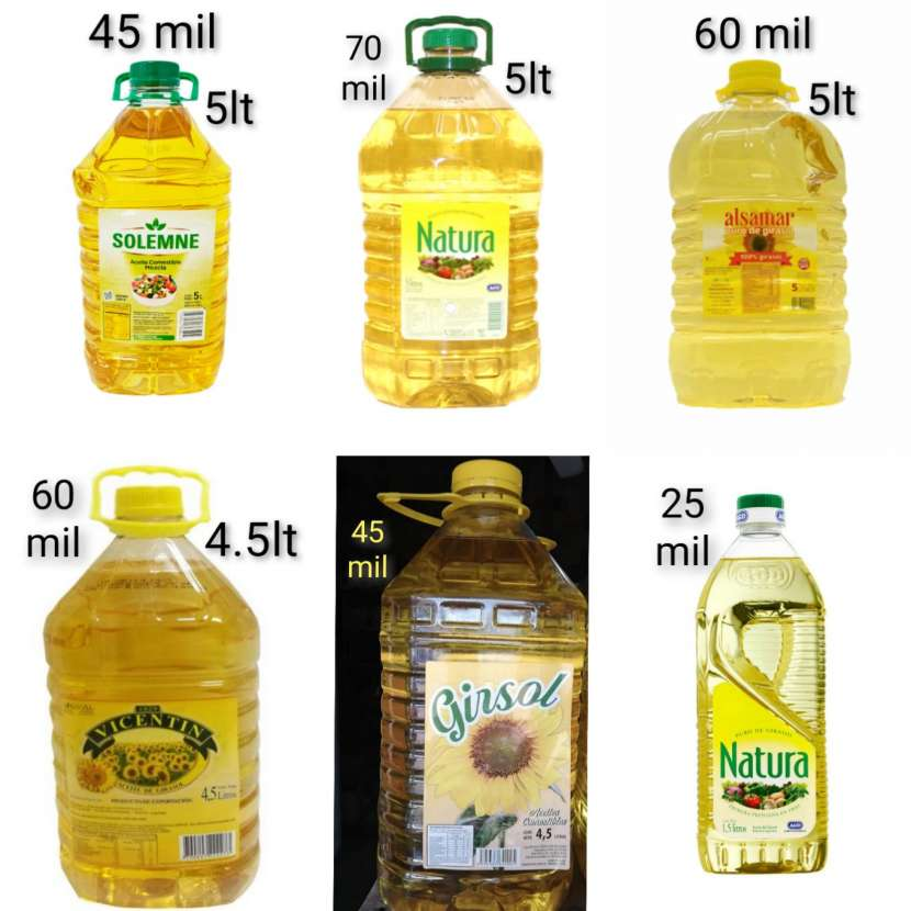 Aceites comestibles - 1