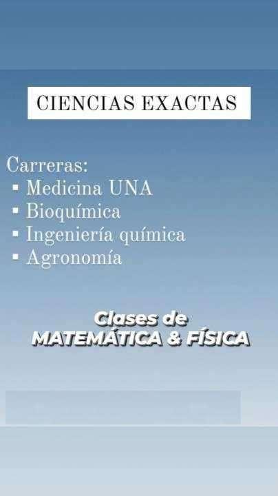 Clases particulares de física y matemática - 0