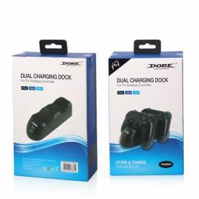 Cargador dual Dobe para controles PS4