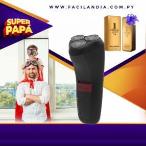 Afeitadora rotativa remington + perfume 1 million paco rabanne