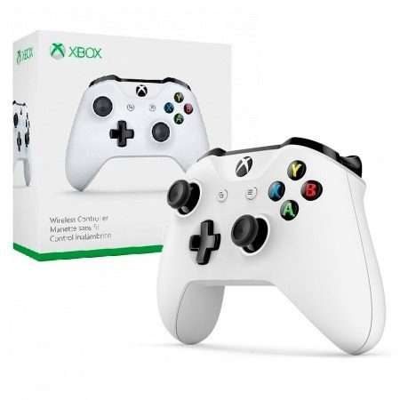Control para Xbox One wireless blanco - 0