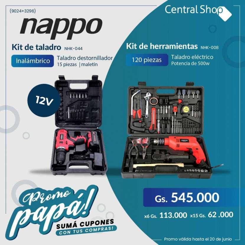 Kit de herramientas 120 piezas kit de taladro - 0