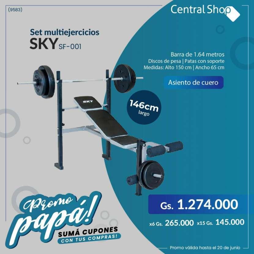 Banco c/ pesas Sky - 0