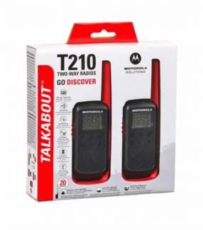 Walkie talkie Motorola T210 recargable