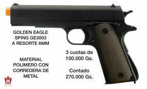 Pistola airsoft Golden eagle 6mm corredera de metal